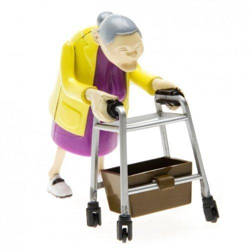 Bluw Racing Grannies - rasende Oma - 2 Renn Omas im Rollatro Rennen