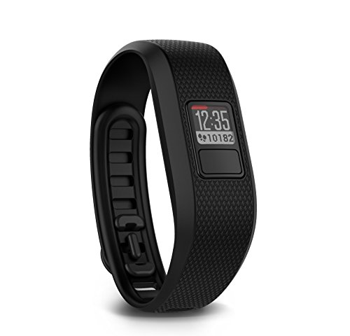 Garmin Vivofit 3 Wireless Fitness Wrist Band e Activity Tracker - Regular (dimensioni polso fino a 195 mm), nero
