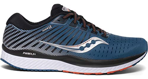 Saucony Men's S20548-25 Guide 13 Running Shoe, Blue/Silver - 9 M US