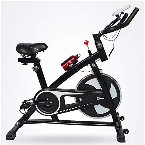 YUANP Cyclette Economica, per Casa con Schienale Bici Professionale Bicicletta Spinning in Offerta Ultrasport Pieghevole Salvaspazio Cyclette Bicicletta da Camera