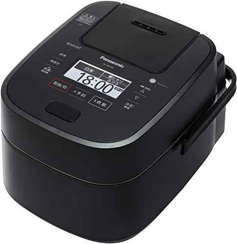 パナソニック 炊飯器 5.5合 スチーム&可変圧力IH式 Wおどり炊き ブラック SR-VSX109-K