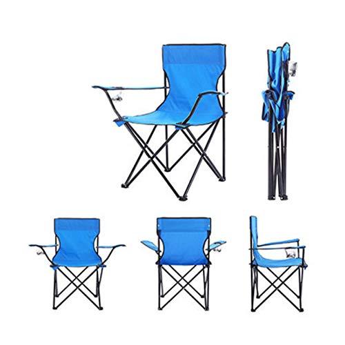 Ultraleicht klappbarer Angelstuhl Sitz für Camping im Freien Freizeit Picknick Strandkorb Grün Blau Rot Dunkel Andere Angelwerkzeuge-Sky_Blue