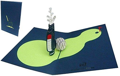 Geburtstagskarten Golfbag