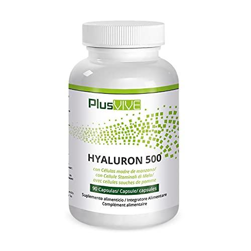 Plusvive - Ácido hialurónico con células madre de manzana (500 mg)