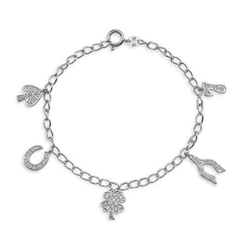 Bonne Chance Trèfle Bracelet Multi Fer À Cheval Pour Cadeau