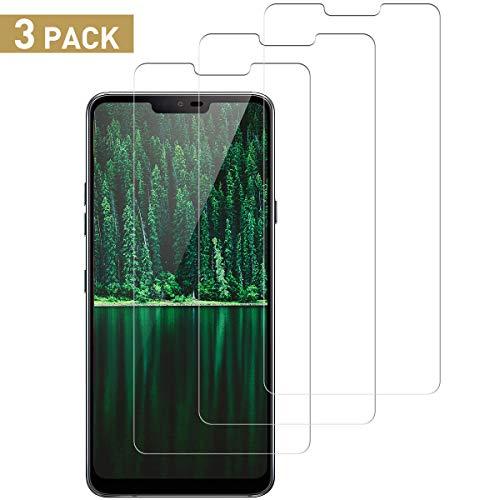 SNUNGPHIR Vetro Temperato Pellicola Protettiva per LG G7 ThinQ Protezione Schermo LG G7 ThinQ Screen Protector Anti graffio Anti Bolle Anti-Impronta Trasparente HD Durezza 9H 3 Pezzi