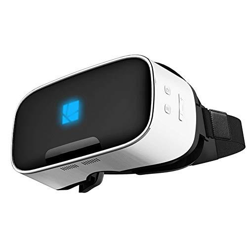 VRGLASS Casque VR Lunettes 3D Réalité Virtuelle Une Machine Processeur Quad-Core Écran LCD 1080P HD De 5,5 Pouces Immersion Totale À 110 ° du Champ De Vision