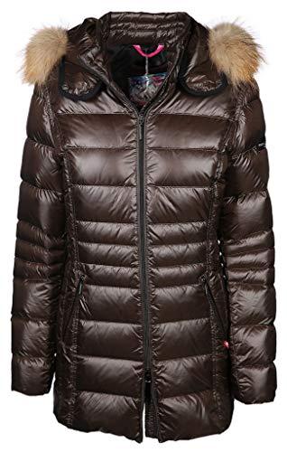 Frieda & Freddies - Damen Daunen Jacke mit Echtpelz - Größe 42