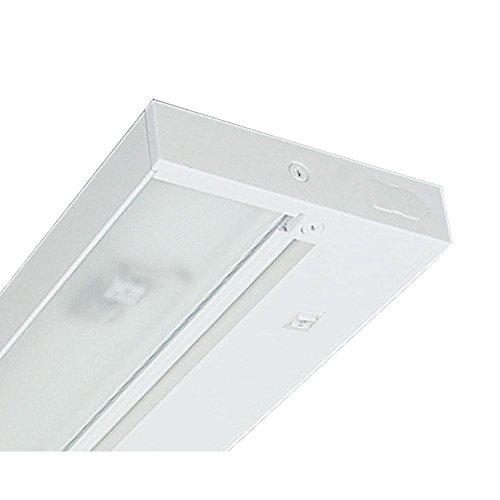 Juno Lighting Group UPX322-WH Pro-Series Xenon Under cabinet Fixture, 22-Inch, 3-Lamp, Designer White