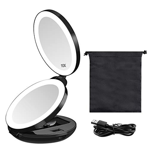 Kedsum Double-Sided LED Lighted Makeup Mirror