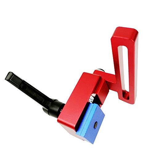KKmoon Dime Sistema Master T-Slot Mitra Track Stop Chute Stopper Manuale Lavorazione del Legno Strumenti DIY Forniture
