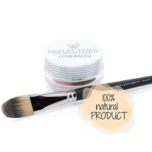 REFLECTIVES MINERAL CONCEALER PUDER SET incl. Concealer Pinsel der erste Schritt zum perfekten Hautbild (neutral - hell)