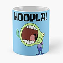 Spongebob Squarepants Patrick Star Squidward Tentacles - Coffee Mug-11 Oz,white Unique Birthday Gift-the Best Gift For Hol...