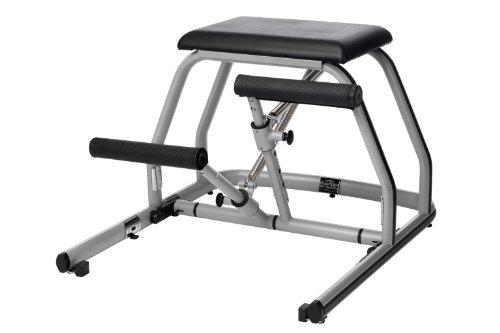 Peak Pilates MVe - Silla de fitness con pedal dividido, color negro, 23,5 x 31 x 37,5 pulgadas