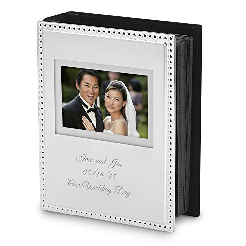 Things Remembered Personalized Beaded 4x6 Album with Engraving Included