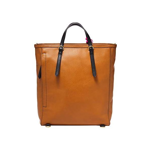 Fashion Shopping Fossil Women's Camilla Leather Convertible Backpack Purse Handbag