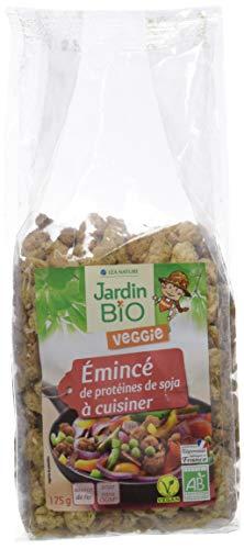 Jardin Bio Protéines de Soja à Cuisiner sans Gluten 175 g (Épicerie)