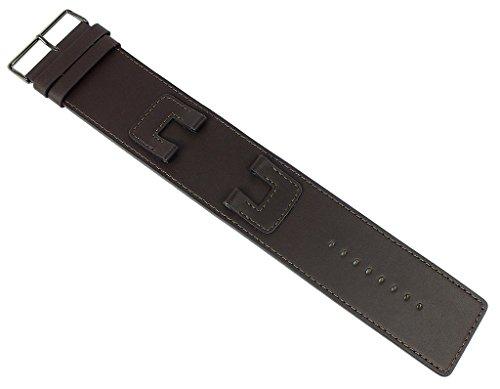 Bruno Banani BELINU Ersatzband Uhrenarmband Leder Band braun BR25875 BE3.750.350A