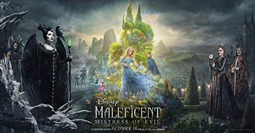 prindesign Maleficent Mistress of Evil - Movie Poster Wall Decor Filmplakat - 70 X 45 cm