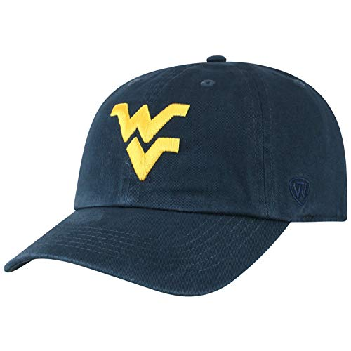 Top of the World West Virginia Mountaineers Women's Adjustable Casual Relaxed Fit Team Icon Hat, Adjustable