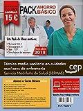 PACK AHORRO BÁSICO. Técnico medio sanitario en cuidados auxiliares de enfermería. Servicio Madrileño de Salud (SERMAS). (Incluye Temarios Vol. I, II, Test y Simulacros)