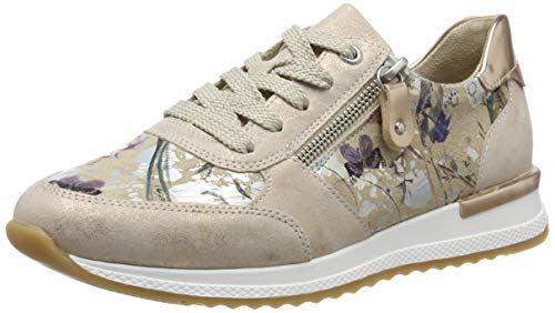 Remonte Damen R7010 Sneaker, Pink (Rosegold/Nude-Metallic/Kupfer 32), 39 EU