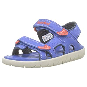 Timberland Perkins Row 2 Strap T Bright Blue Synthetic Infant Strap Sandals
