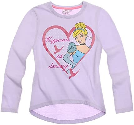 Princess Chicas Camiseta mangas largas - malva - 92