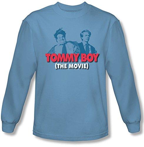 Tommy Boy - Logo Tee shirt manches longues Homme En Bleu Caroline, XX-Large, Carolina Blue