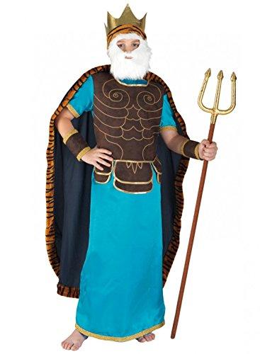 chiber Disfraces Disfraz de Poseidn para Nio (4-6 aos)
