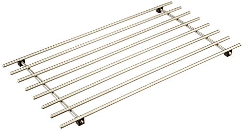 Ikea Lämplig Poggia Pentole, Acciaio Inossidabile, Argento, 50x28x2 cm