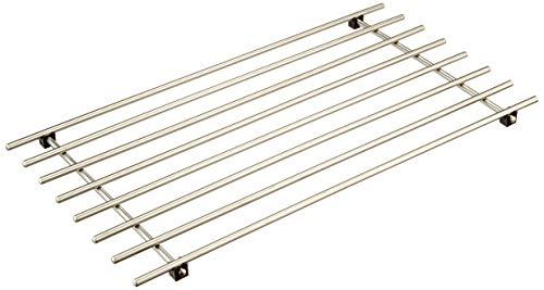 Ikea 301.110.87 LÄMPLIG Topfgitter, Edelstahl, Silber, 50 x 28, 50 x 27 x 2 cm