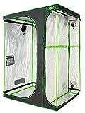 VITA5 Armaro Cultivo 2-in-1 | Armarios Cultivo Interior | Lona Resistente a Prueba de luz y de rasgaduras | Impermeable Grow Tent | (150x120x200cm)