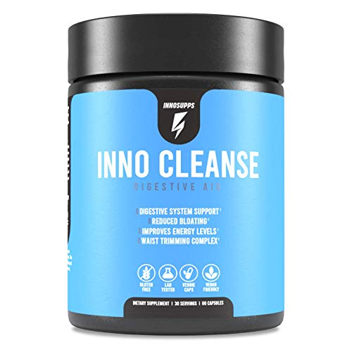 Inno Cleanse - Waist Trimming Complex | Digestive System Support & Aid | Reduced Bloating | Improves Energy Levels | Gluten Free, Vegan Friendly