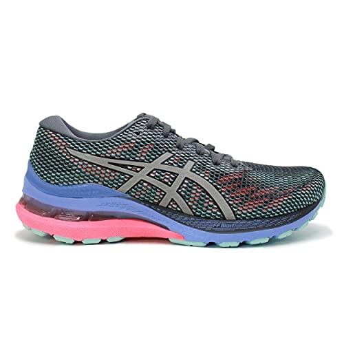 ASICS Gel-Kayano 28 Lite-Show, Zapatillas de Running Mujer, Carrier Grey Pure Silver, 39 EU