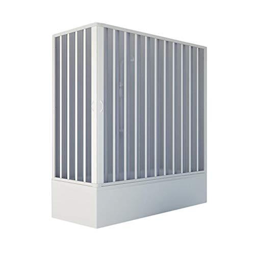 Starke br200001Box Schale Free Winkel Reduzierbare, weiß, 70x 150–170cm, H 150cm