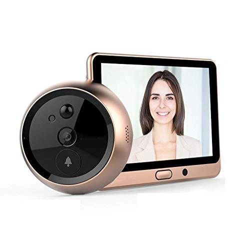 Yuany camera, intelligente elektronische kat oog camera visuele deurbel anti-diefstal thuis deur spiegel -16GB