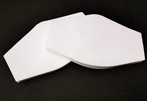 BEYBI® Filtro TNT EXTRA Grande para mascarilla 18x10,5cm. Muy transpirable, hidrofugo.60 capas de tejido no tejido de 70gr, ENTREGA EN 24H