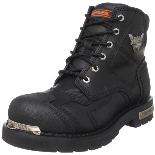 HARLEY-DAVIDSON FOOTWEAR mens Stealth Riding Boot Black 11.5 M