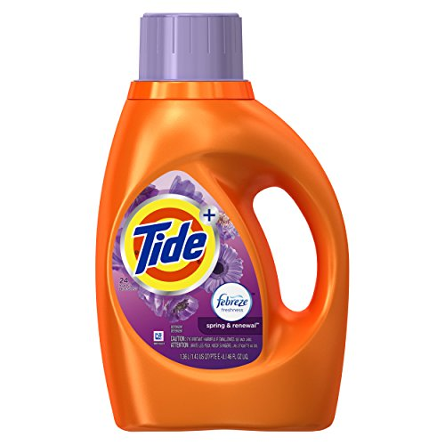 Tide Liquid Laundry Detergent, Spring & Renewal, 46 Ounce
