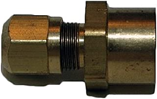 Brass Tompkins 268P-04-06 Poly Flow Fitting 1//4 x 3//8-18 Tube to Male Pipe