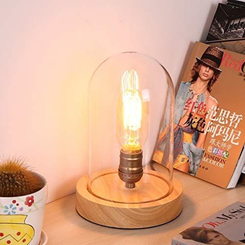 YLCJ tafellamp, wit, creatief, moderne hanglamp, tafellamp, eettafel, decoratie, tafel van massief hout, tafel van glas (grootte: drukknop)