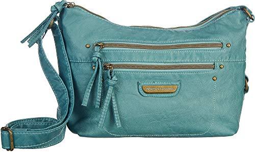 Stone Mountain Smoky Mountain Front Zip Crossbody Handbag for Women   Travel Shoulder Bag for Girls