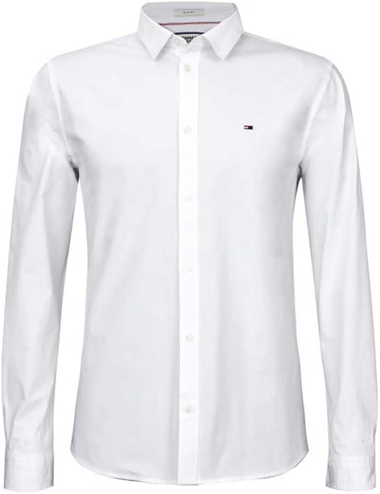 Tommy hilfiger slim fit,camicia per uomo,100% cotone Oxford Shirt