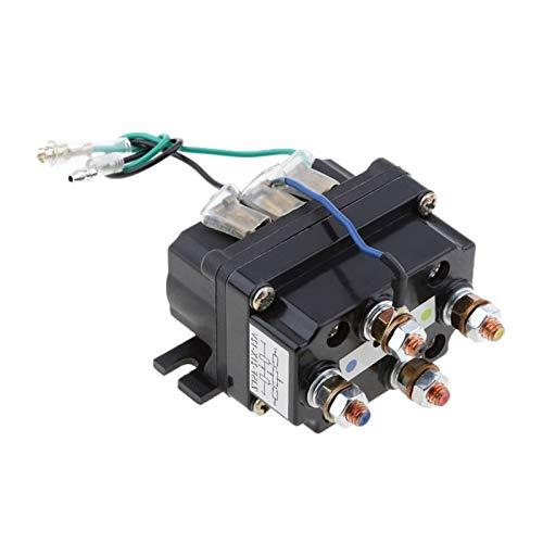 binbin Universal 12V solenoide Relay Contactor Cabrestante Rocker Switch Thumb 250A 95001bs-17000lbs ajuste for ATV/UTV 4WD 4x4 Cabrias 80 * 7,5 * 40.5mm