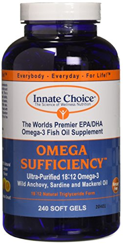 Omega Sufficiency Lemon 240 Capsules