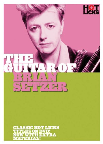 Guitar Of Brian Setzer - Hot Licks Guitar DVD