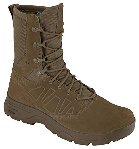 Salomon Unisex Guardian Wide Military and Tactical Boot, Coyote, 10.5 US Men