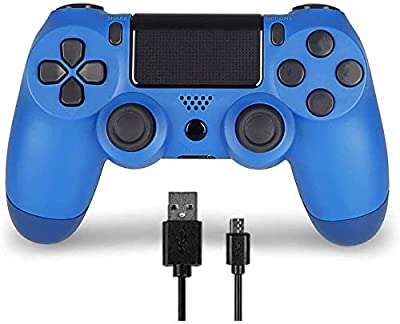 Wireless Controller for PS4 Remote for DualShock 4, Game Control Compatible for Playstation 4,Blue