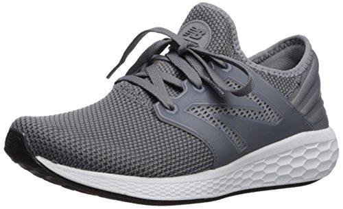 New Balance Men's Fresh Foam Cruz V2 Sneaker, Grey/White, 7 2E US